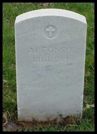 LIGUORI (VETERAN WWI), ALFONSO - Pulaski County, Arkansas | ALFONSO LIGUORI (VETERAN WWI) - Arkansas Gravestone Photos