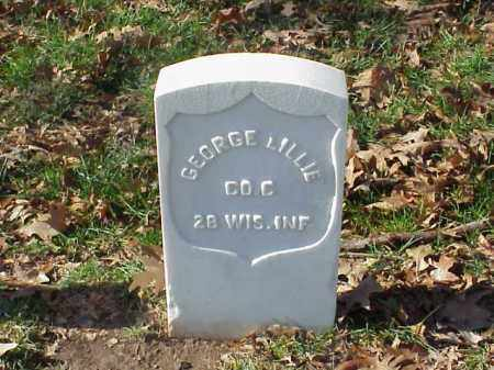 LILLIE (VETERAN UNION), GEORGE - Pulaski County, Arkansas | GEORGE LILLIE (VETERAN UNION) - Arkansas Gravestone Photos