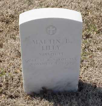 LILLY  (VETERAN SAW), MARTIN B - Pulaski County, Arkansas | MARTIN B LILLY  (VETERAN SAW) - Arkansas Gravestone Photos