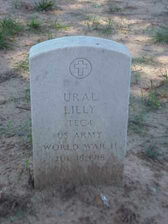 LILLY (VETERAN WWII), URAL - Pulaski County, Arkansas | URAL LILLY (VETERAN WWII) - Arkansas Gravestone Photos