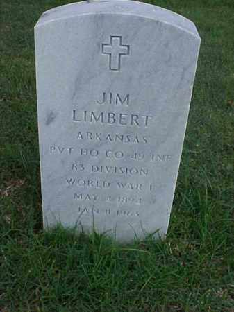 LIMBERT (VETERAN WWI), JIM - Pulaski County, Arkansas | JIM LIMBERT (VETERAN WWI) - Arkansas Gravestone Photos