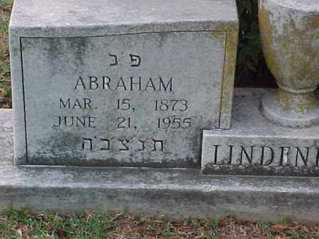LINDENBERG, ABRAHAM (2) - Pulaski County, Arkansas   ABRAHAM (2) LINDENBERG - Arkansas Gravestone Photos
