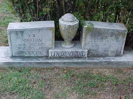 LINDENBERG, SARAH - Pulaski County, Arkansas | SARAH LINDENBERG - Arkansas Gravestone Photos