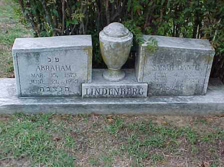 LINDENBERG, ABRAHAM - Pulaski County, Arkansas | ABRAHAM LINDENBERG - Arkansas Gravestone Photos