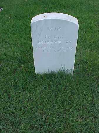 LINDSEY, BOBBYE W - Pulaski County, Arkansas | BOBBYE W LINDSEY - Arkansas Gravestone Photos