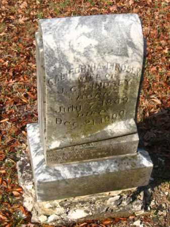 LINDSEY, CALIFORNIA - Pulaski County, Arkansas | CALIFORNIA LINDSEY - Arkansas Gravestone Photos