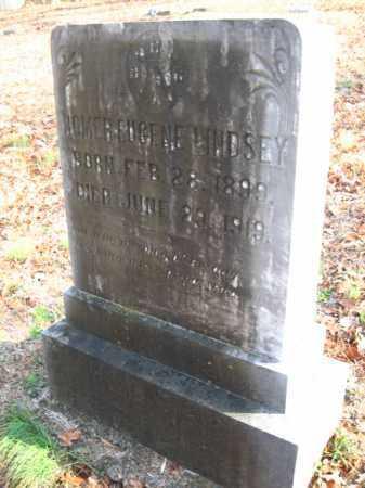 LINDSEY, HOMER EUGENE - Pulaski County, Arkansas | HOMER EUGENE LINDSEY - Arkansas Gravestone Photos