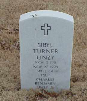 LINZY, SIBYL - Pulaski County, Arkansas | SIBYL LINZY - Arkansas Gravestone Photos