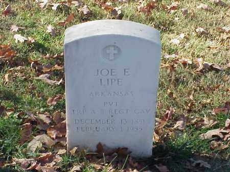 LIPE (VETERAN SAW), JOE E - Pulaski County, Arkansas | JOE E LIPE (VETERAN SAW) - Arkansas Gravestone Photos