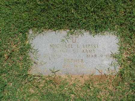LIPSKI, ESTHER - Pulaski County, Arkansas | ESTHER LIPSKI - Arkansas Gravestone Photos