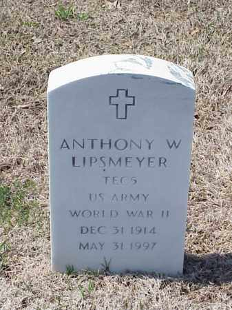 LIPSMEYER (VETERAN WWII), ANTHONY W - Pulaski County, Arkansas | ANTHONY W LIPSMEYER (VETERAN WWII) - Arkansas Gravestone Photos