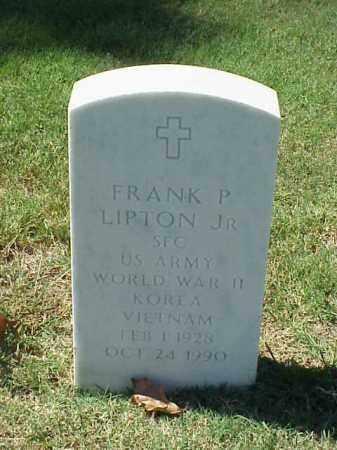 LIPTON, JR (VETERAN 3 WARS), FRANK P - Pulaski County, Arkansas | FRANK P LIPTON, JR (VETERAN 3 WARS) - Arkansas Gravestone Photos