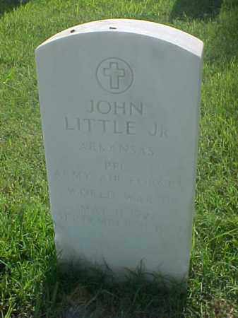 LITTLE, JR (VETERAN WWII), JOHN - Pulaski County, Arkansas | JOHN LITTLE, JR (VETERAN WWII) - Arkansas Gravestone Photos