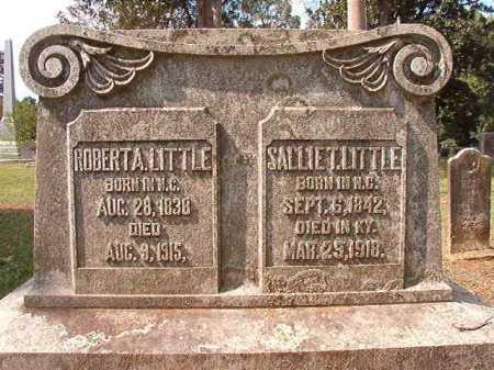 LITTLE, SALLIE T - Pulaski County, Arkansas | SALLIE T LITTLE - Arkansas Gravestone Photos