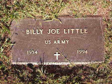 LITTLE (VETERAN), BILLY JOE - Pulaski County, Arkansas | BILLY JOE LITTLE (VETERAN) - Arkansas Gravestone Photos