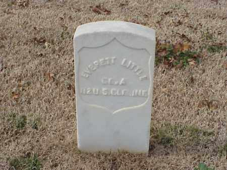 LITTLE (VETERAN UNION), EVERETT - Pulaski County, Arkansas | EVERETT LITTLE (VETERAN UNION) - Arkansas Gravestone Photos