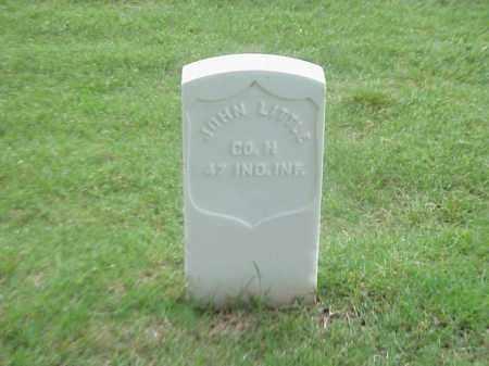 LITTLE (VETERAN UNION), JOHN - Pulaski County, Arkansas | JOHN LITTLE (VETERAN UNION) - Arkansas Gravestone Photos