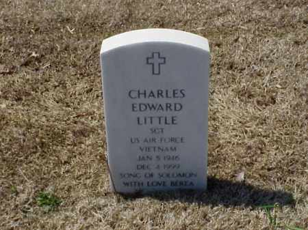 LITTLE (VETERAN VIET), CHARLES EDWARD - Pulaski County, Arkansas | CHARLES EDWARD LITTLE (VETERAN VIET) - Arkansas Gravestone Photos