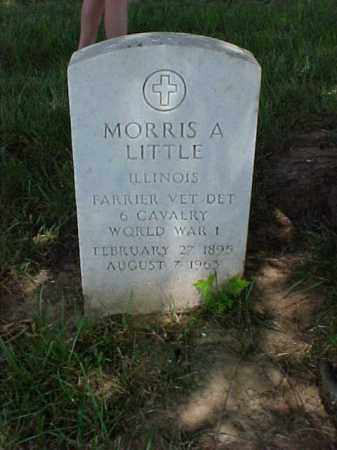 LITTLE (VETERAN WWI), MORRIS A - Pulaski County, Arkansas | MORRIS A LITTLE (VETERAN WWI) - Arkansas Gravestone Photos