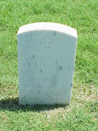 LITTLEJOHN (VETERAN WWII), DARNELL - Pulaski County, Arkansas | DARNELL LITTLEJOHN (VETERAN WWII) - Arkansas Gravestone Photos