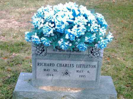 LITTLETON, RICHARD CHARLES - Pulaski County, Arkansas | RICHARD CHARLES LITTLETON - Arkansas Gravestone Photos