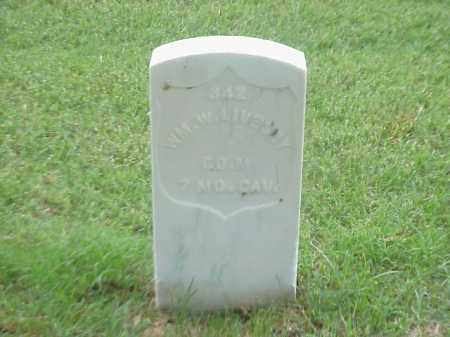 LIVESEY (VETERAN UNION), WILLIAM W - Pulaski County, Arkansas | WILLIAM W LIVESEY (VETERAN UNION) - Arkansas Gravestone Photos