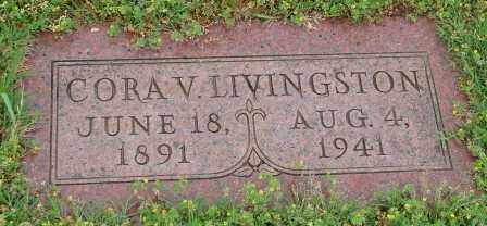 LIVINGSTON, CORA V. - Pulaski County, Arkansas | CORA V. LIVINGSTON - Arkansas Gravestone Photos