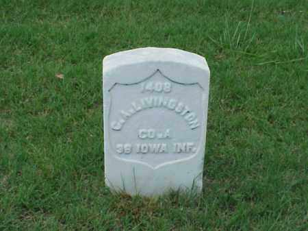 LIVINGSTON (VETERAN UNION), C A - Pulaski County, Arkansas | C A LIVINGSTON (VETERAN UNION) - Arkansas Gravestone Photos