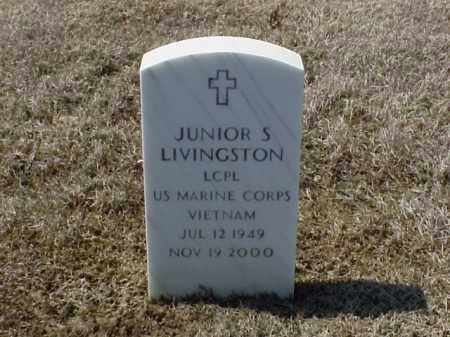 LIVINGSTON (VETERAN VIET), JUNIOR S - Pulaski County, Arkansas | JUNIOR S LIVINGSTON (VETERAN VIET) - Arkansas Gravestone Photos