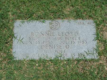 LLOYD (VETERAN VIET), RONNIE - Pulaski County, Arkansas | RONNIE LLOYD (VETERAN VIET) - Arkansas Gravestone Photos