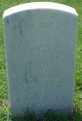 LLOYD (VETERAN WWII), WILLIE MAE - Pulaski County, Arkansas | WILLIE MAE LLOYD (VETERAN WWII) - Arkansas Gravestone Photos