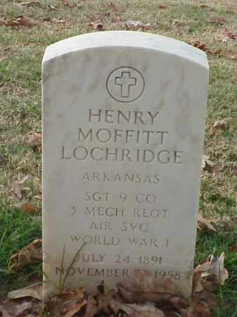LOCHRIDGE (VETERAN WWI), HENRY MOFFITT - Pulaski County, Arkansas | HENRY MOFFITT LOCHRIDGE (VETERAN WWI) - Arkansas Gravestone Photos