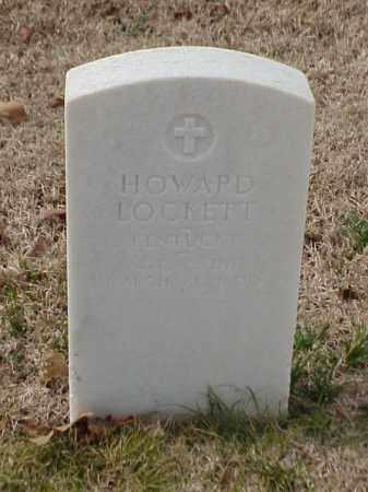 LOCKETT (VETERAN), HOWARD - Pulaski County, Arkansas | HOWARD LOCKETT (VETERAN) - Arkansas Gravestone Photos