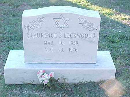 LOCKWOOD, LAURENCE S - Pulaski County, Arkansas | LAURENCE S LOCKWOOD - Arkansas Gravestone Photos