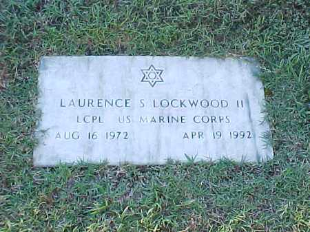 LOCKWOOD II  (VETERAN), LAURENCE S - Pulaski County, Arkansas | LAURENCE S LOCKWOOD II  (VETERAN) - Arkansas Gravestone Photos