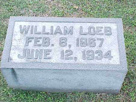 LOEB, WILLIAM - Pulaski County, Arkansas | WILLIAM LOEB - Arkansas Gravestone Photos
