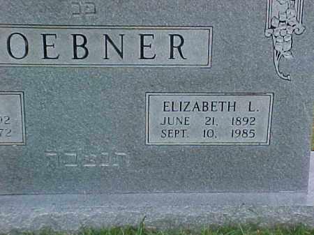 LOEBNER, ELIZABETH L (2) - Pulaski County, Arkansas | ELIZABETH L (2) LOEBNER - Arkansas Gravestone Photos