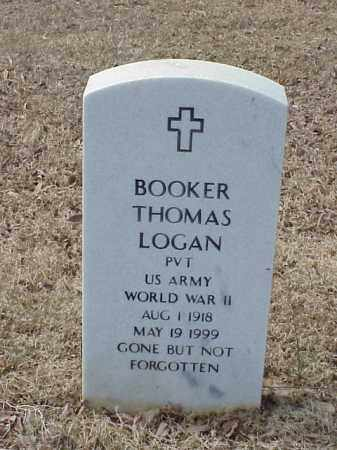 LOGAN  (VETERAN WWII), BOOKER THOMAS - Pulaski County, Arkansas | BOOKER THOMAS LOGAN  (VETERAN WWII) - Arkansas Gravestone Photos