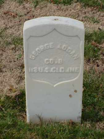 LOGAN (VETERAN UNION), GEORGE - Pulaski County, Arkansas | GEORGE LOGAN (VETERAN UNION) - Arkansas Gravestone Photos