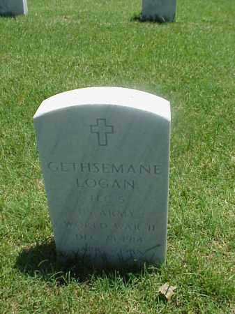 LOGAN (VETERAN WWII), GESTHSEMANE - Pulaski County, Arkansas | GESTHSEMANE LOGAN (VETERAN WWII) - Arkansas Gravestone Photos