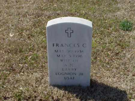 LOGNION, FRANCES C - Pulaski County, Arkansas | FRANCES C LOGNION - Arkansas Gravestone Photos
