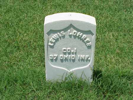 LOHRER (VETERAN UNION), LEWIS - Pulaski County, Arkansas | LEWIS LOHRER (VETERAN UNION) - Arkansas Gravestone Photos