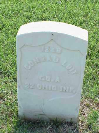 LOIT (VETERAN UNION), CONRAD - Pulaski County, Arkansas | CONRAD LOIT (VETERAN UNION) - Arkansas Gravestone Photos