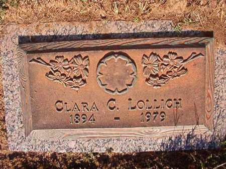 LOLLICH, CLARA C - Pulaski County, Arkansas | CLARA C LOLLICH - Arkansas Gravestone Photos