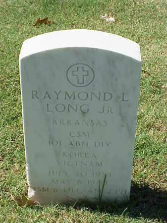 LONG, JR (VETERAN 2 WARS), RAYMOND L - Pulaski County, Arkansas | RAYMOND L LONG, JR (VETERAN 2 WARS) - Arkansas Gravestone Photos