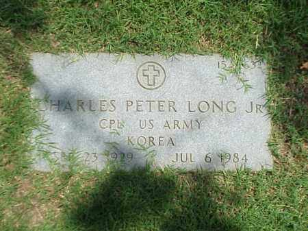 LONG, JR (VETERAN KOR), CHARLES PETER - Pulaski County, Arkansas | CHARLES PETER LONG, JR (VETERAN KOR) - Arkansas Gravestone Photos