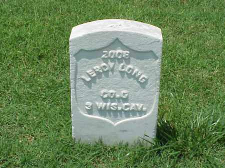 LONG (VETERAN UNION), LEROY - Pulaski County, Arkansas | LEROY LONG (VETERAN UNION) - Arkansas Gravestone Photos