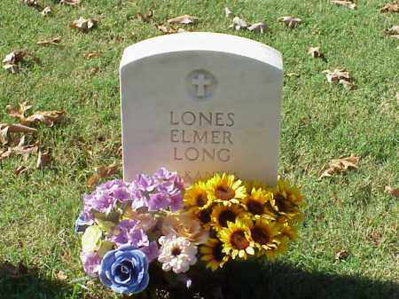 LONG (VETERAN 2 WARS), LONES ELMER - Pulaski County, Arkansas | LONES ELMER LONG (VETERAN 2 WARS) - Arkansas Gravestone Photos