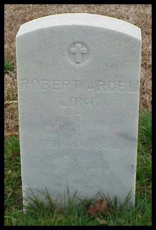 LONG (VETERAN WWI), ROBERT ARDEL - Pulaski County, Arkansas | ROBERT ARDEL LONG (VETERAN WWI) - Arkansas Gravestone Photos