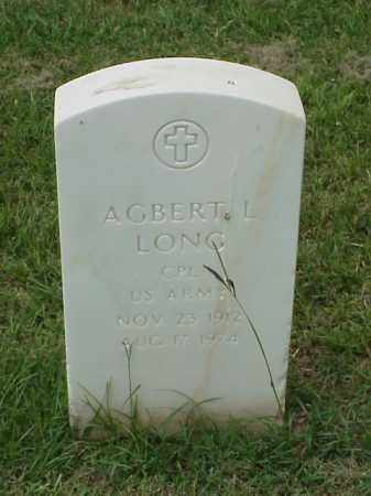 LONG (VETERAN WWII), AGBERT L - Pulaski County, Arkansas | AGBERT L LONG (VETERAN WWII) - Arkansas Gravestone Photos